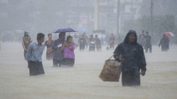 Inondations en Birmanie : plus de 130.000 personnes déplacées