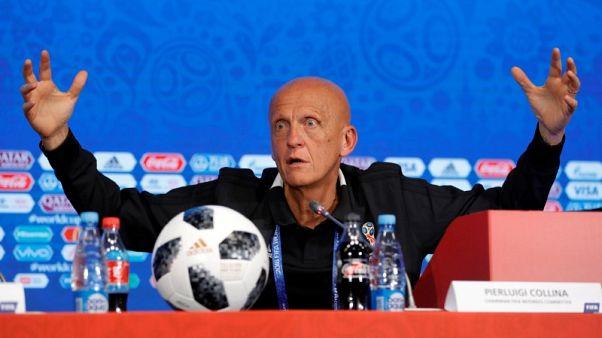 استقالة كولينا من رئاسة لجنة الحكام بالاتحاد الأوروبي لكرة القدم
