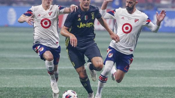 Juventus batte Mls All Stars ai rigori