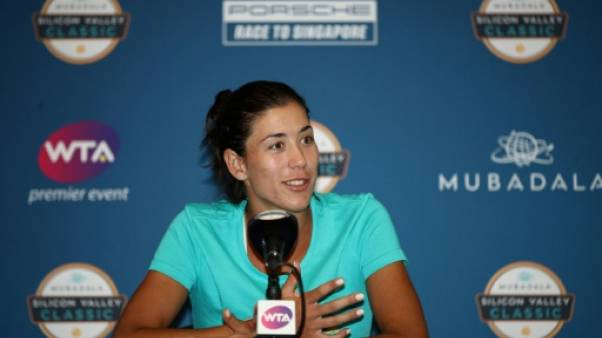 Tennis: forfait de Muguruza à San José