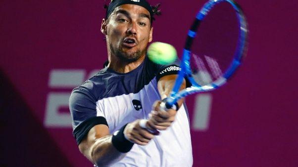 Tennis: Los Cobos, Fognini ai quarti
