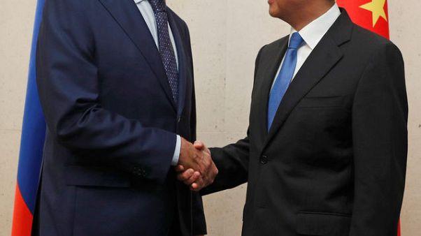 لافروف ووانغ يي يبحثان الوضع في شبه الجزيرة الكورية