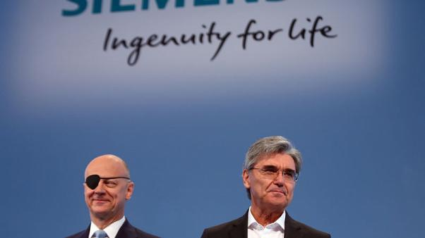 Siemens CEO Kaeser plays his last card on strategy