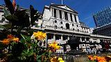 بنك إنجلترا يرفع سعر الفائدة ويلمح لوتيرة أبطأ مستقبلا