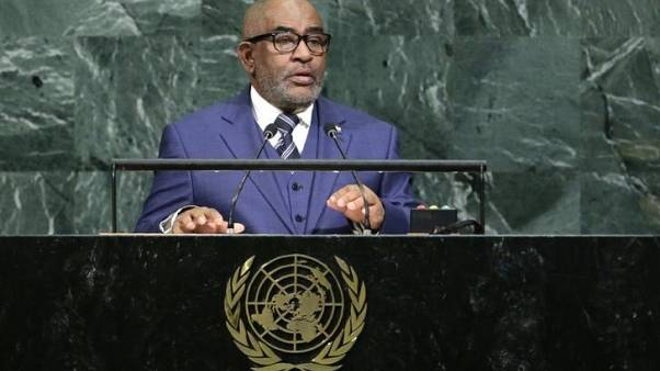 Comoros leader says wins vote to extend presidential term limits