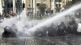 Ultra-Orthodox Jews protest Israeli draft, scuffle with police