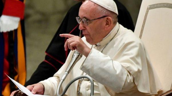 Le pape François au Vatican le 1er août 2018