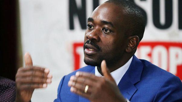 زعيم المعارضة في زيمبابوي يعلن فوزه بانتخابات الرئاسة