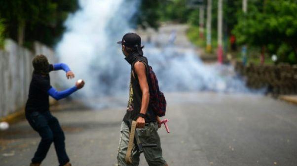 Le bilan des violences au Nicaragua s'alourdit à 317 morts