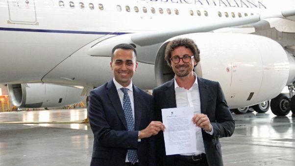 Di Maio, Airbus Stato narcisistico