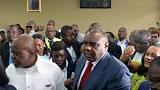 Congo opposition leader Bemba files presidential candidacy