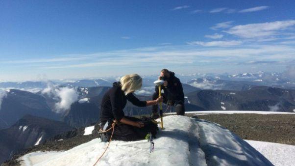 Climat: la fonte du plus haut sommet suédois inquiète les scientifiques