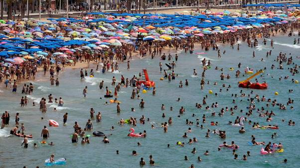 Southern Europe issues heat warnings; German dry spell unearths WW2 munitions