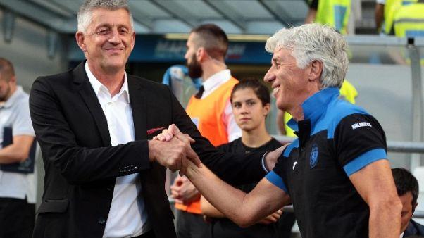 E.League: 8-0 a Sarajevo,Atalanta avanti