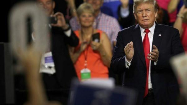 Le président américain Donald Trump à Tampa en Floride, le 31 juillet 2018