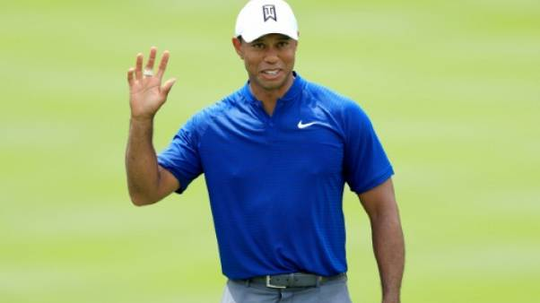 Golf : Tiger Woods rend une carte de 66 à Bridgestone