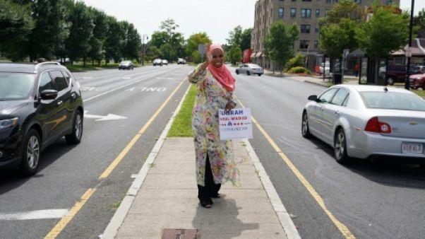 Etats-Unis: Tahirah Amatul-Wadud, femme, noire, musulmane et candidate au Congrès