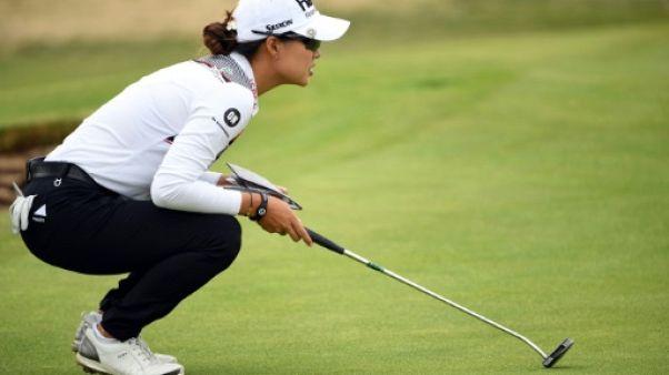 British Open dames de golf: l'Australienne Lee seule en tête