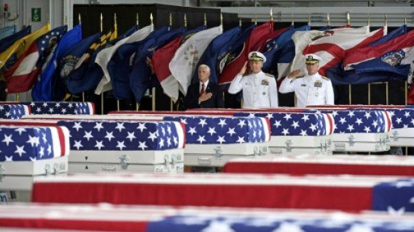 Les dépouilles américaines viennent du site d'une célèbre bataille de la guerre de Corée