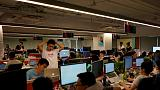 Ding! Always-on Alibaba office app fuels backlash among Chinese workers