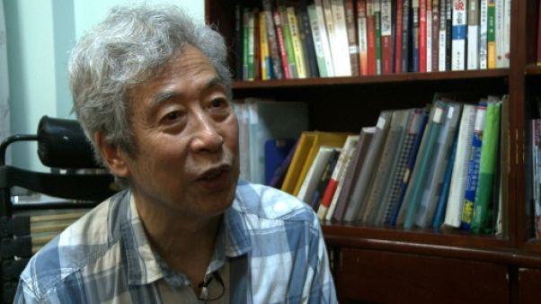 Sun Wenguang à son domicile de Jinan, le 28 août 2013