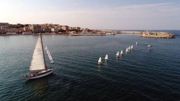 Vela:Periplo salvaguardia mare a Crotone