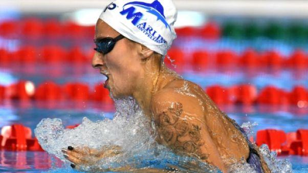 Euro de natation: Lesaffre meilleur temps des séries sur 400 4 nages, avec un record de France