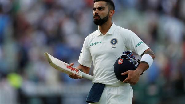 Kohli keeps alive Indian hopes of gatecrashing England's 1000th test