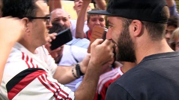 """Higuain: """"Milan può fare grandi cose"""""""
