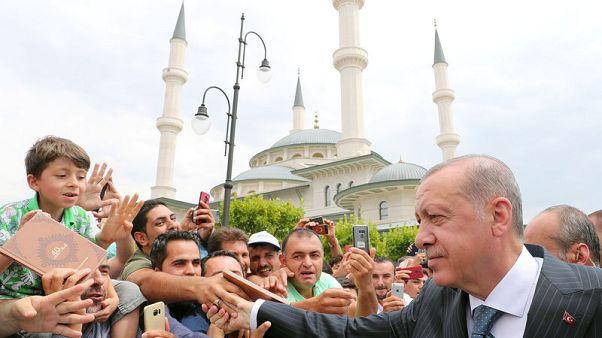 Erdogan says roadmap in Syria's Manbij won't be impacted by U.S. tension