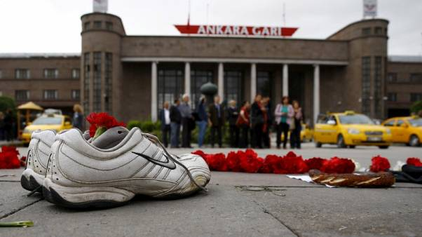 Turkish court sentences nine people to life for 2015 Ankara bombings