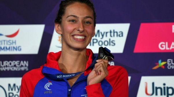 Euro de natation: la Française Fantine Lesaffre en or sur 400 m 4 nages