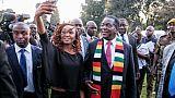 """Zimbabwe: le président élu Mnangagwa défend une élection """"libre, juste et crédible"""""""