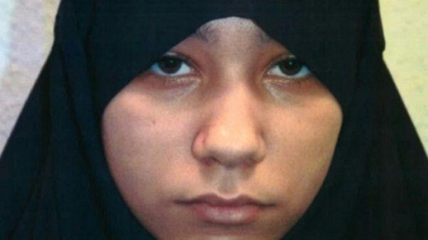 Perpétuité pour une jihadiste britannique de 18 ans qui préparait un attentat à Londres