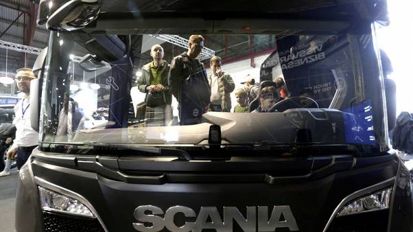Scania says U.S. sanctions put entire Iran truck sales in 'jeopardy'