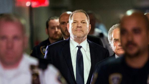 Harvey Weinstein le 5 juin 2018 à New York