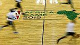 فريق افريقيا في مواجهة فريق العالم ضمن مبادرة لدوري السلة الأمريكي