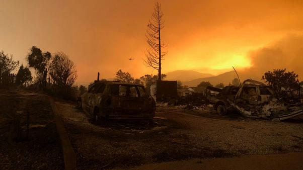 Mendocino becomes largest of California's 'killer' wildfires