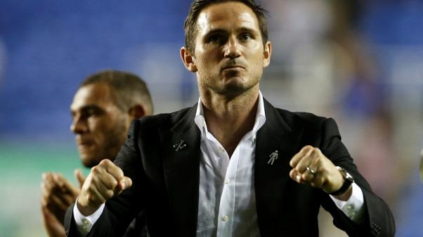 Lampard gets perfect start as Derby snatch late win