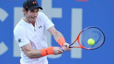 Le Britannique Andy Murray lors du tournoi de Washington le 1er août 2018