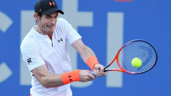 Le Britannique Andy Murray lors du tournoi de Washington le 1er août 2018