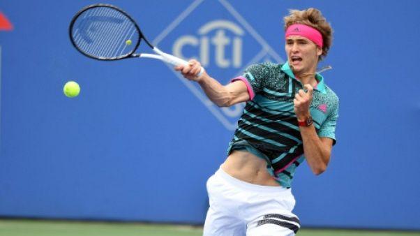 Tennis: Zverev plus fort que la pluie, Murray déclare forfait à Washington
