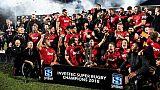 Super Rugby: les Crusaders sans l'ombre d'un doute