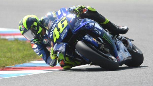 GP de Rép. tchèque: Rossi le plus rapide, Zarco 8e