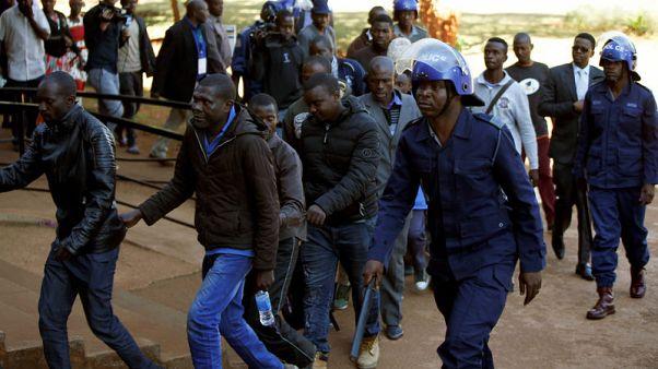 UK says deeply concerned by Zimbabwe election violence