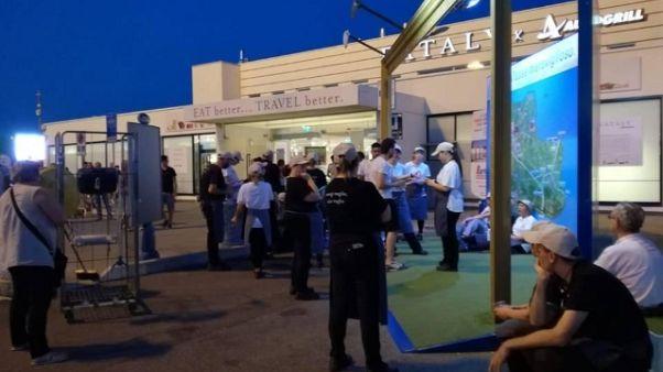 Esodo: sciopero in Autogrill a Modena
