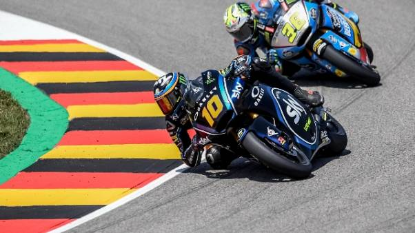 Moto2: Rep.Ceca, Luca Marini in pole