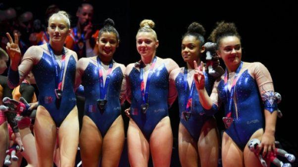 Euro de gymnastique: les Françaises en argent