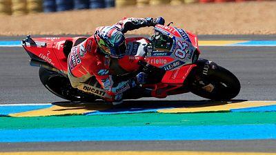 Dovizioso puts Ducati on pole for Czech GP