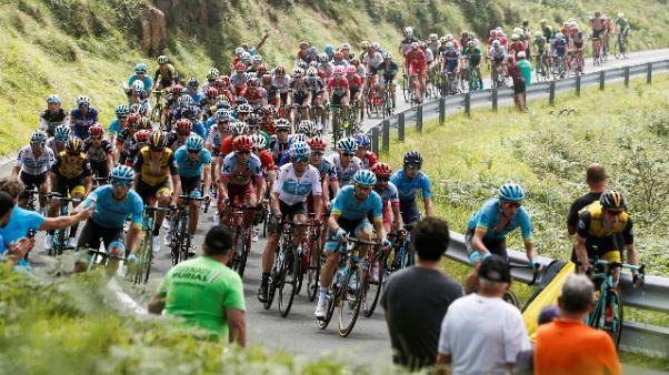 Ciclismo: S.Sebastian, vince Alaphilippe